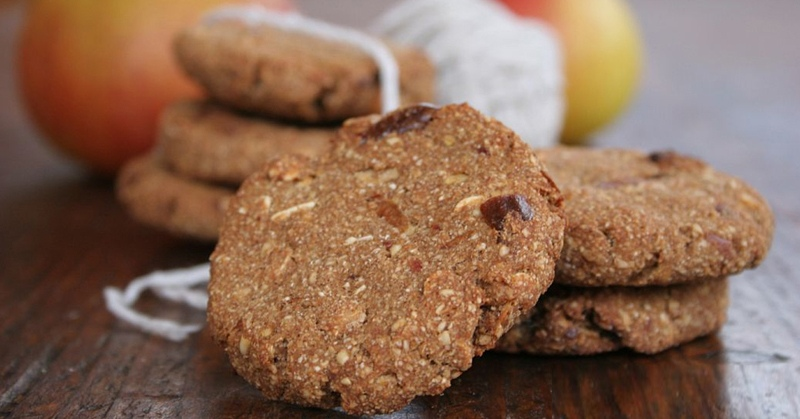 Гречневое печенье без муки и сахара
