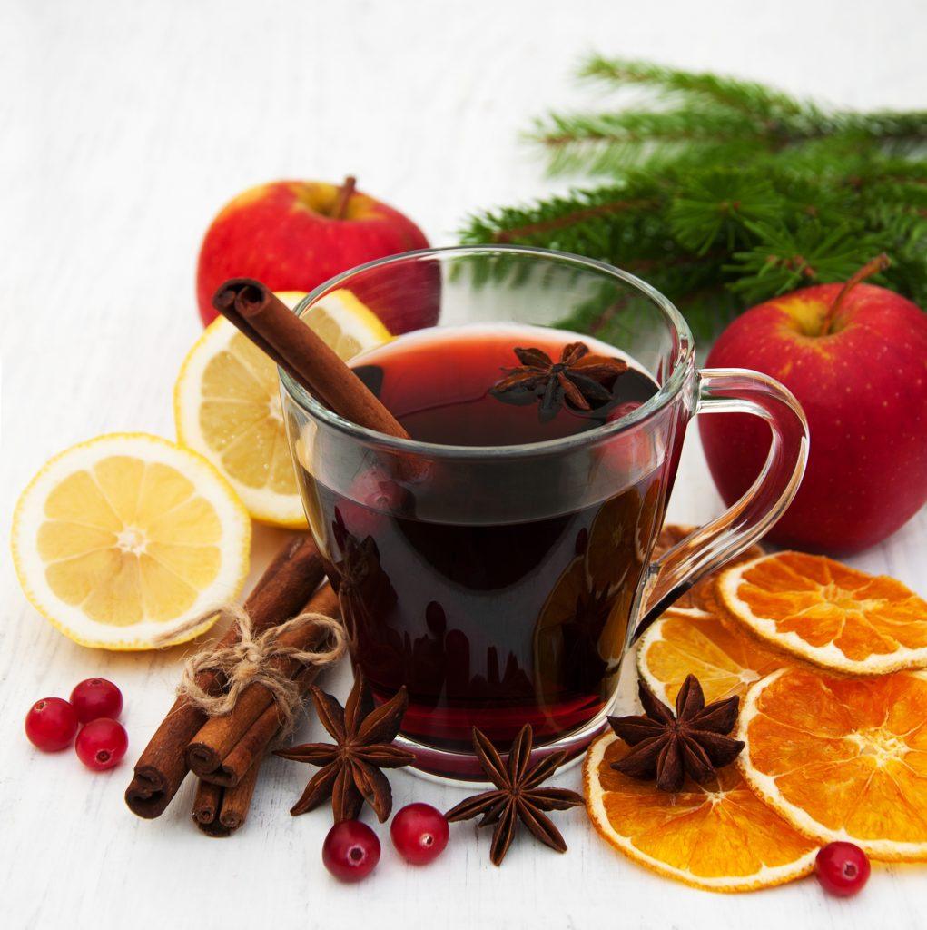 5 Рецептов глитвейна из красного вина